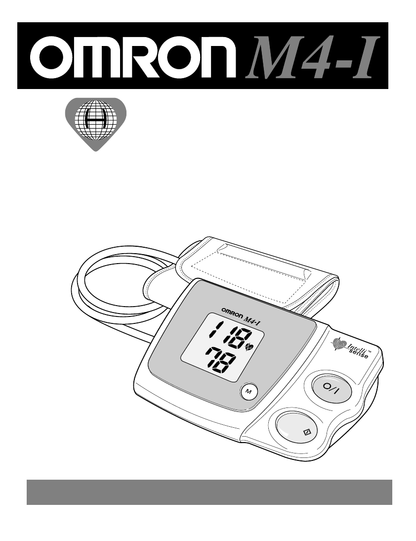 Page 4 of omron blood pressure monitor m4-i user guide.