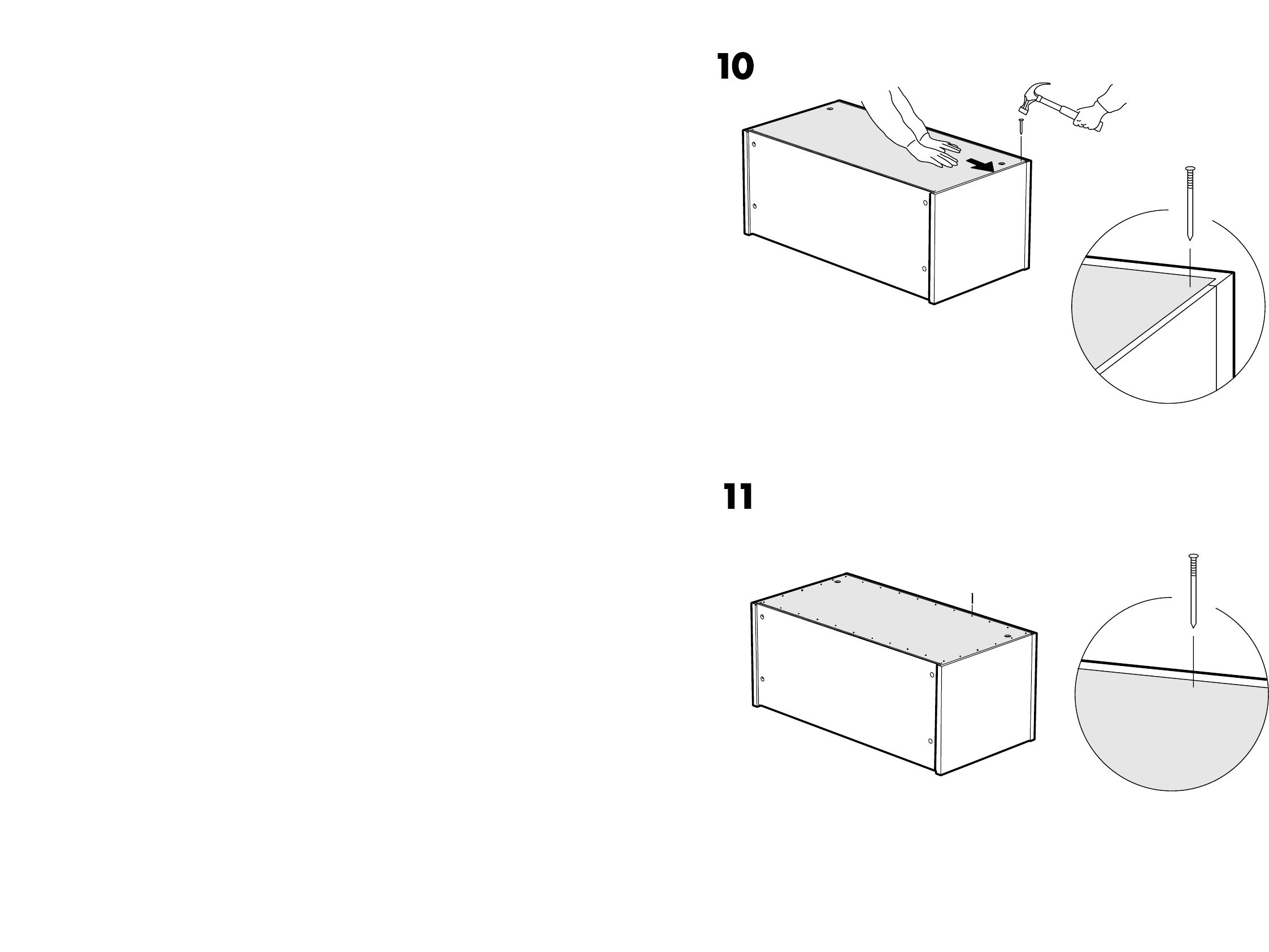 Wonderlijk Handleiding Ikea Effektiv wandkast (pagina 1 van 6) (Dansk BJ-21