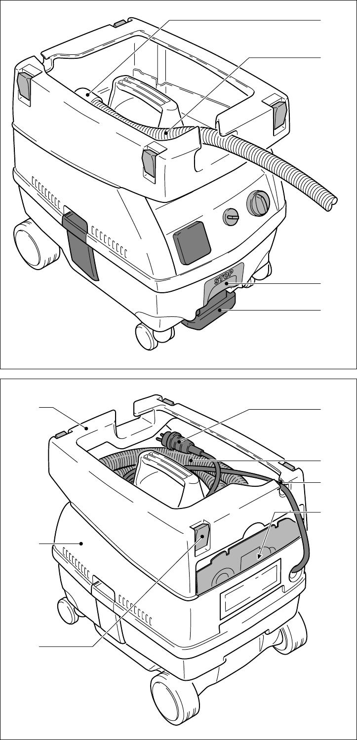 Wonderbaarlijk Handleiding Festool CTL Midi Mobiele zuiger (pagina 1 van 54 II-64