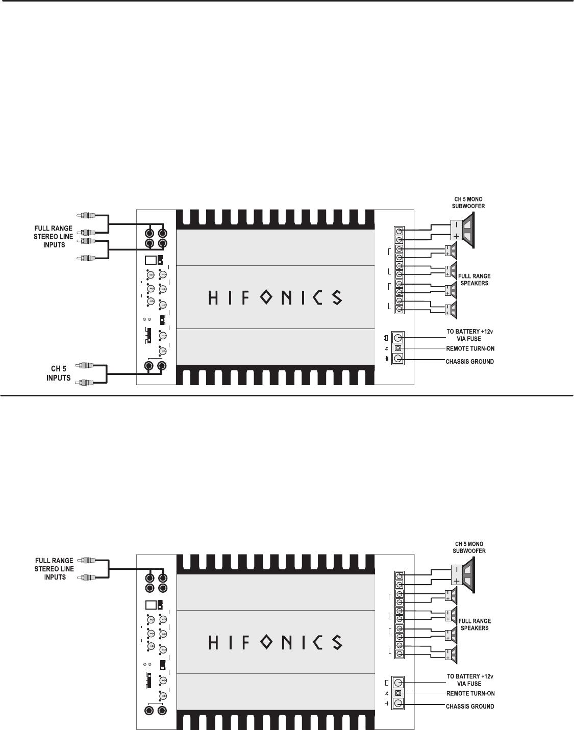 Zeus 2 Channel Amp Wiring Diagram Dvr Recorder 4 6 Speakers Handleiding Hifonics Zxi Pagina 8 Van 14 English On