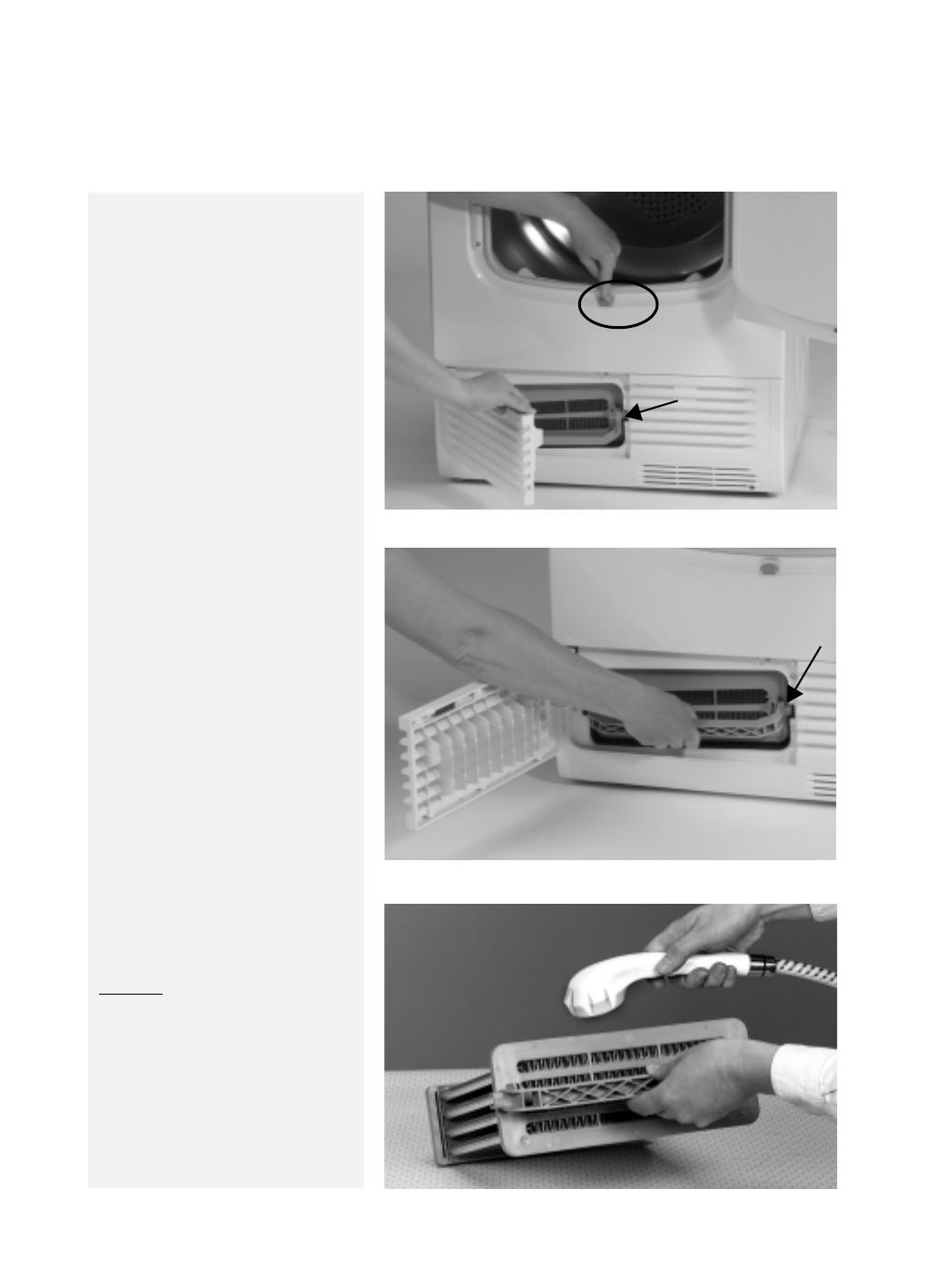 handleiding bauknecht trkd eco 270 pagina 8 van 9 deutsch. Black Bedroom Furniture Sets. Home Design Ideas