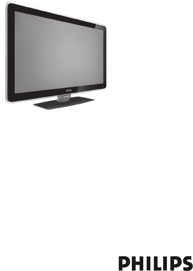 philips flat tv user manual