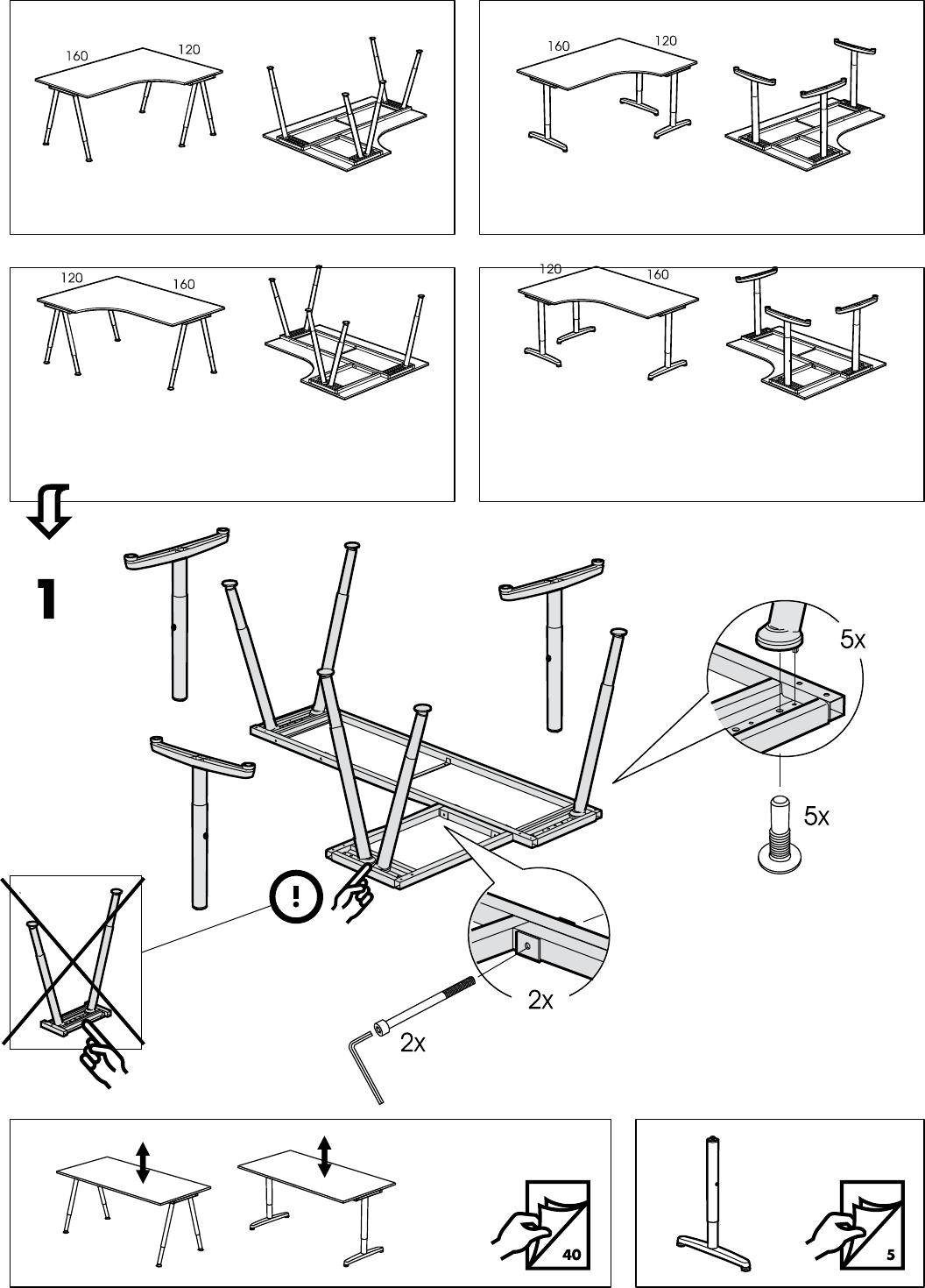 Handleiding Ikea Galant Pagina 17 Van 40 Dansk Deutsch
