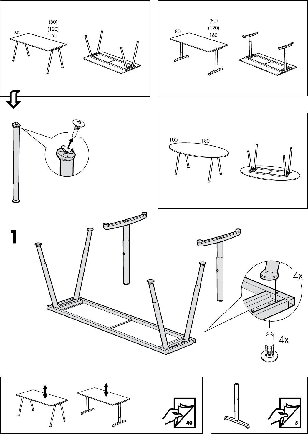 Ikea cijferslot instellen