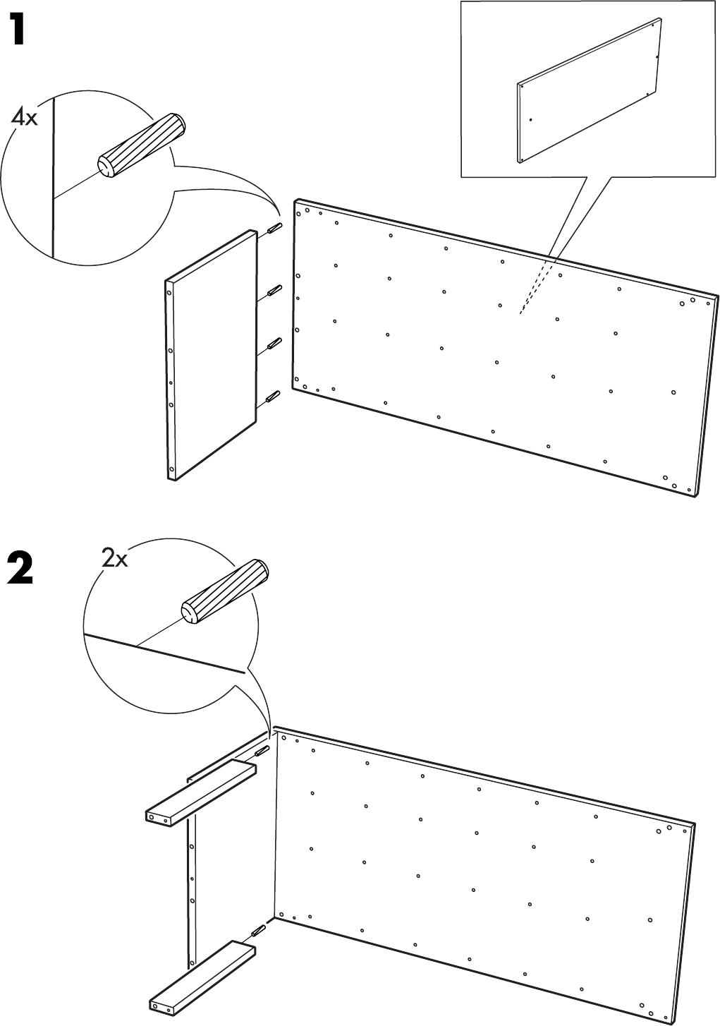 Trofast Opbergkast Ikea.Handleiding Ikea Trofast Basiselement Pagina 1 Van 12 Dansk