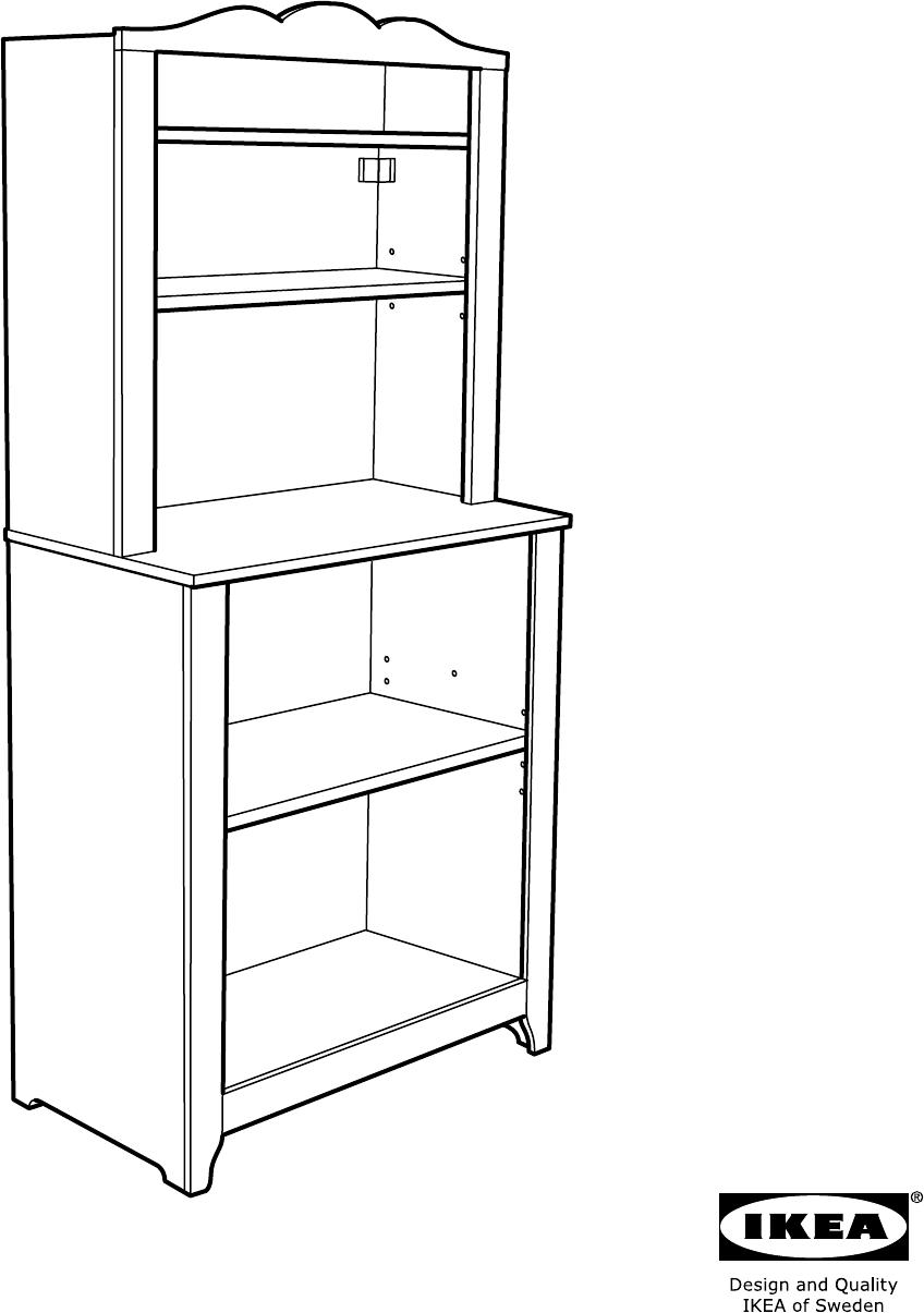 Handleiding Expedit Boekenkast.Handleiding Ikea Hensvik Kast Open 75x161 Cm Pagina 1 Van 32