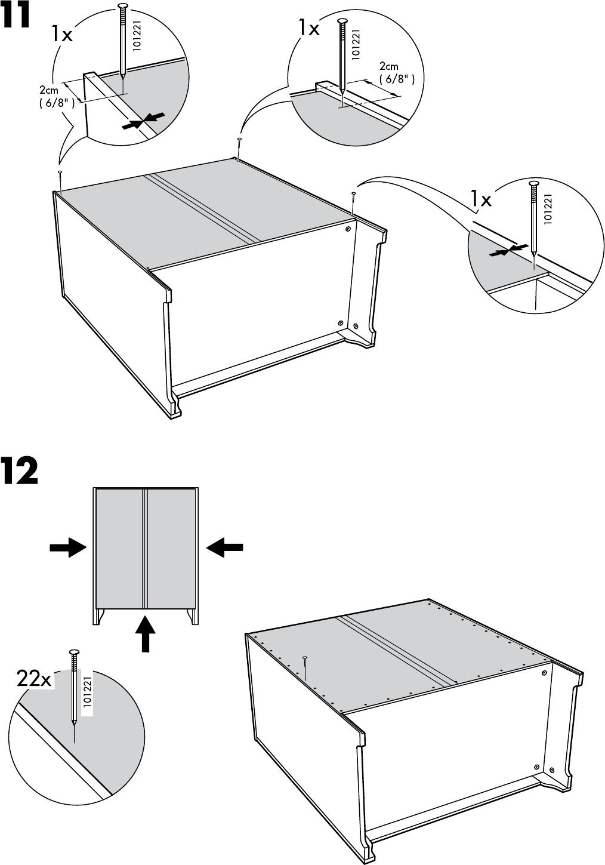 Handleiding Ikea Hensvik Kast Open 75x161 Cm Pagina 16 Van