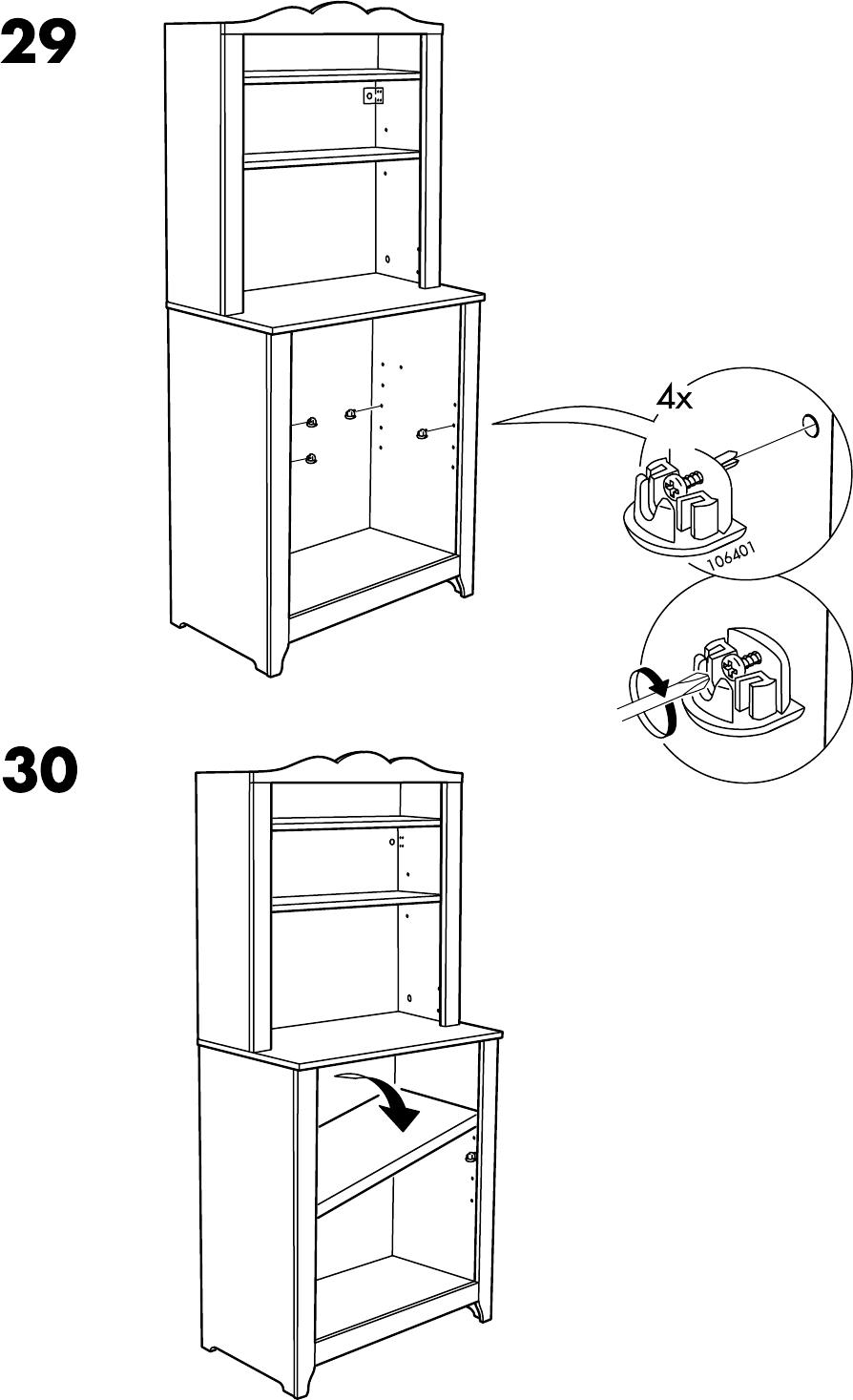 Handleiding Ikea Hensvik Kast Open 75x161 Cm Pagina 26 Van