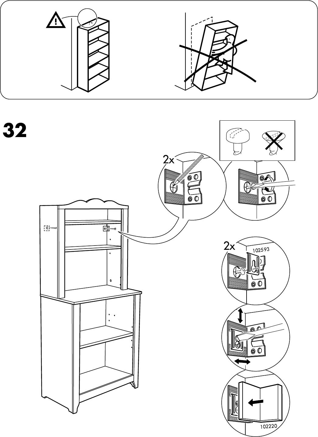 Handleiding Ikea Hensvik Kast Open 75x161 Cm Pagina 28 Van