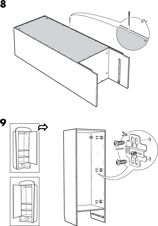 Garderobekast Stolmen Ikea.Ikea Keukenkast Handleiding Informatie Over De Keuken