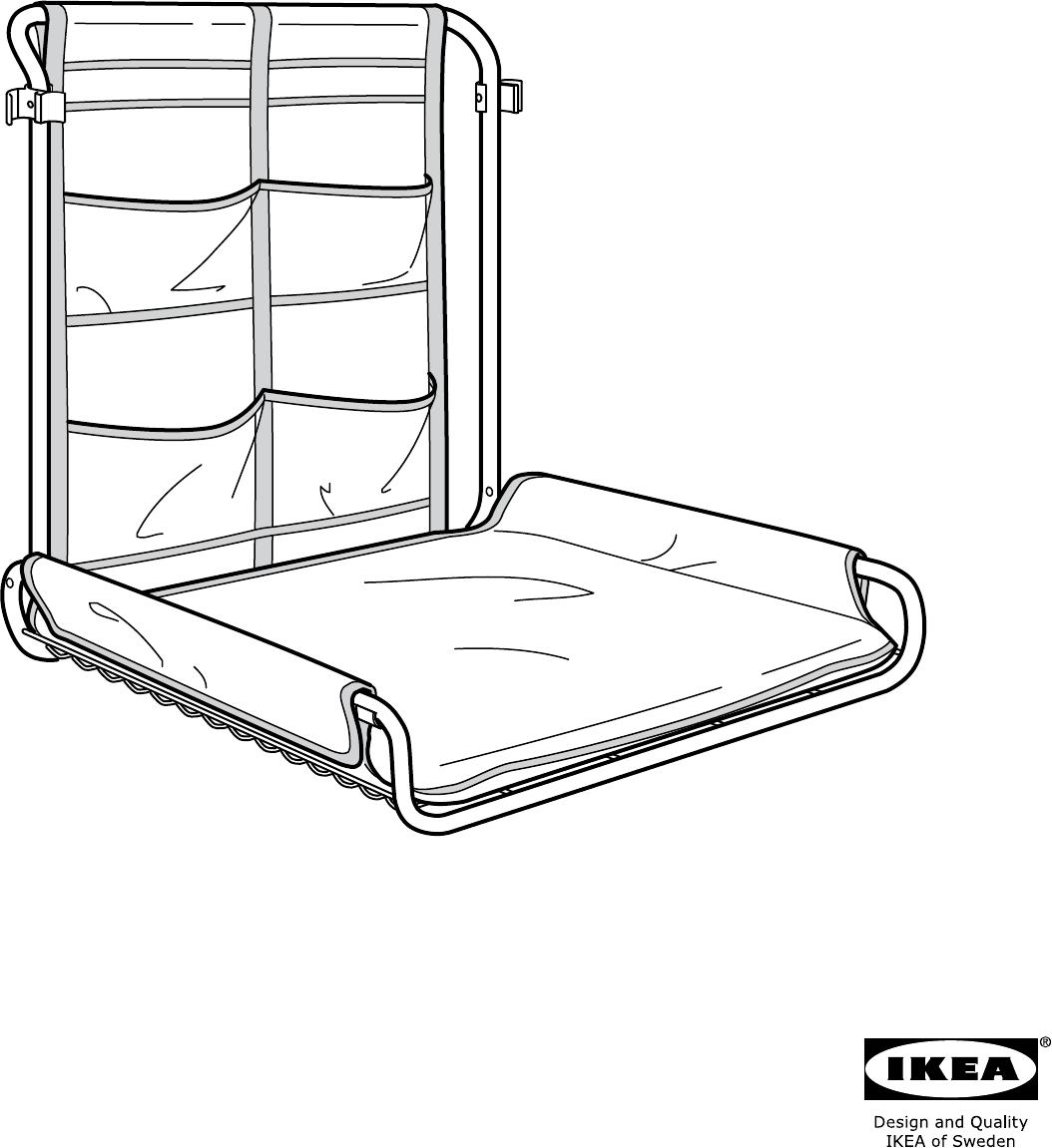 handleiding ikea antilop wandcommode pagina 1 van 12. Black Bedroom Furniture Sets. Home Design Ideas
