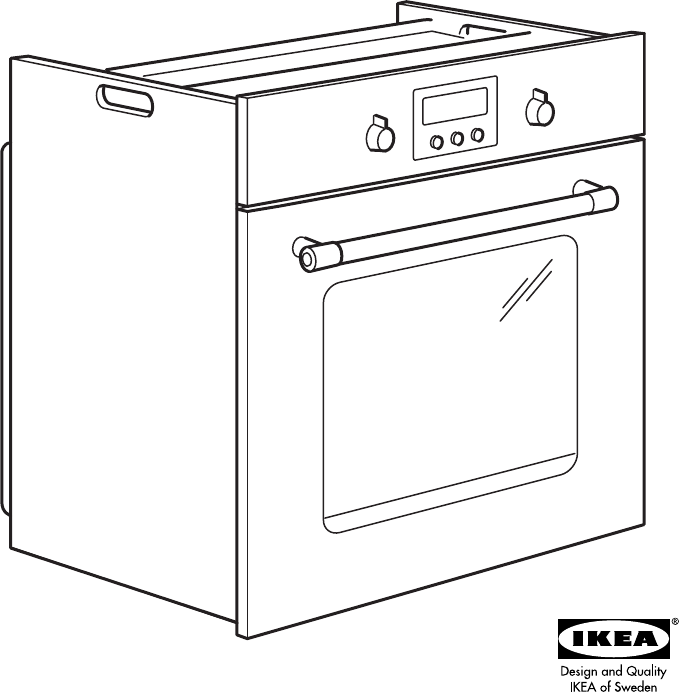 Ikea oven gebruiksaanwijzing