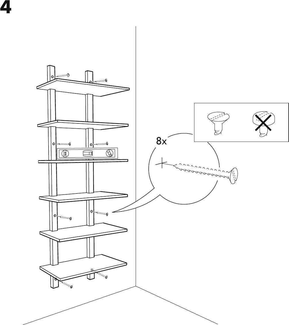 Wandrek Keuken Ikea : Handleiding Ikea VARDE Wandrek (pagina 7 van 8) (Dansk, Deutsch