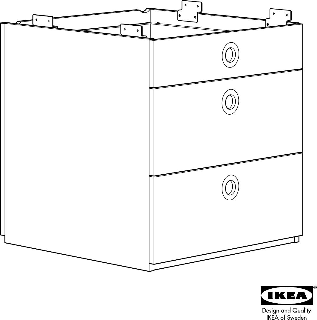 Handleiding Ikea Udden Ladeblok Pagina 1 Van 16 Dansk Deutsch