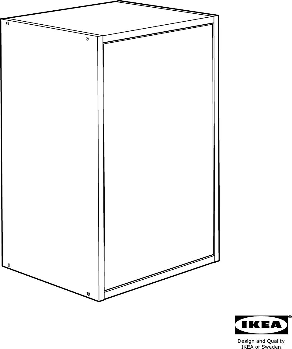 Fyndig Keuken Ikea : Handleiding Ikea FYNDIG Bovenkast met deur (pagina 1 van 28) (1,85 mb
