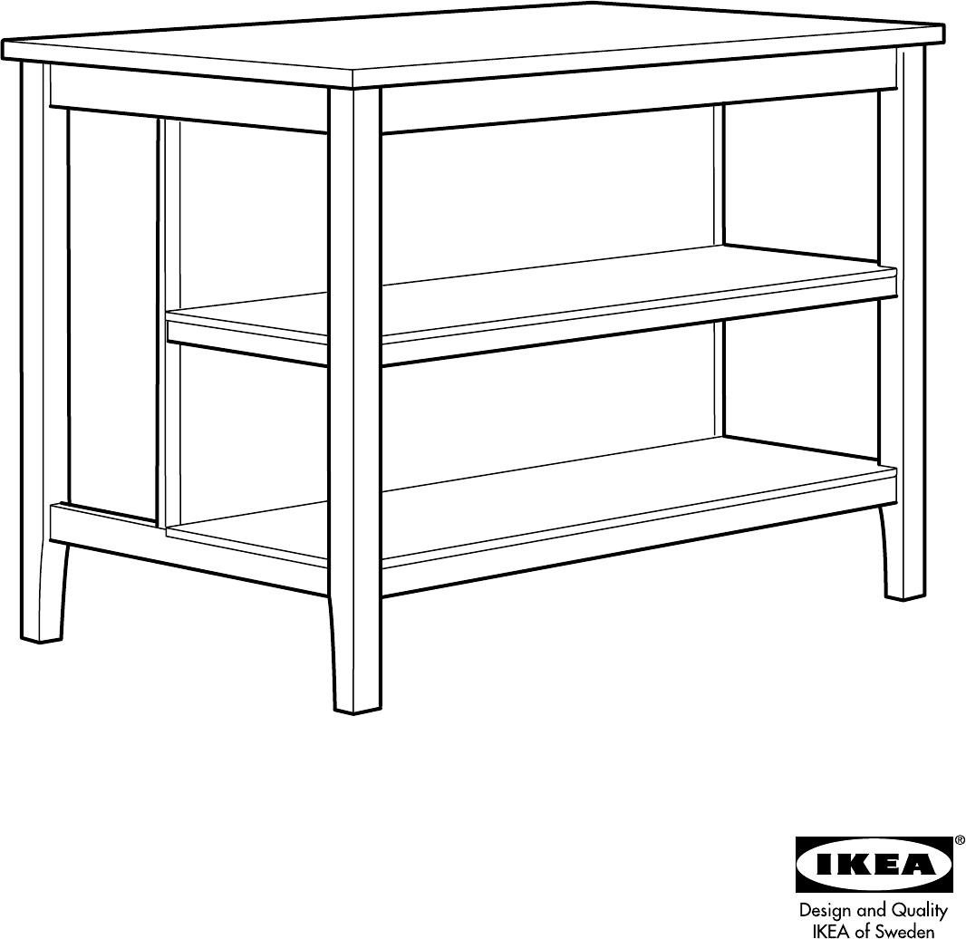 Keukeneiland Ikea : Handleiding Ikea STENSTORP Keukeneiland (pagina 1 van 12) (Dansk