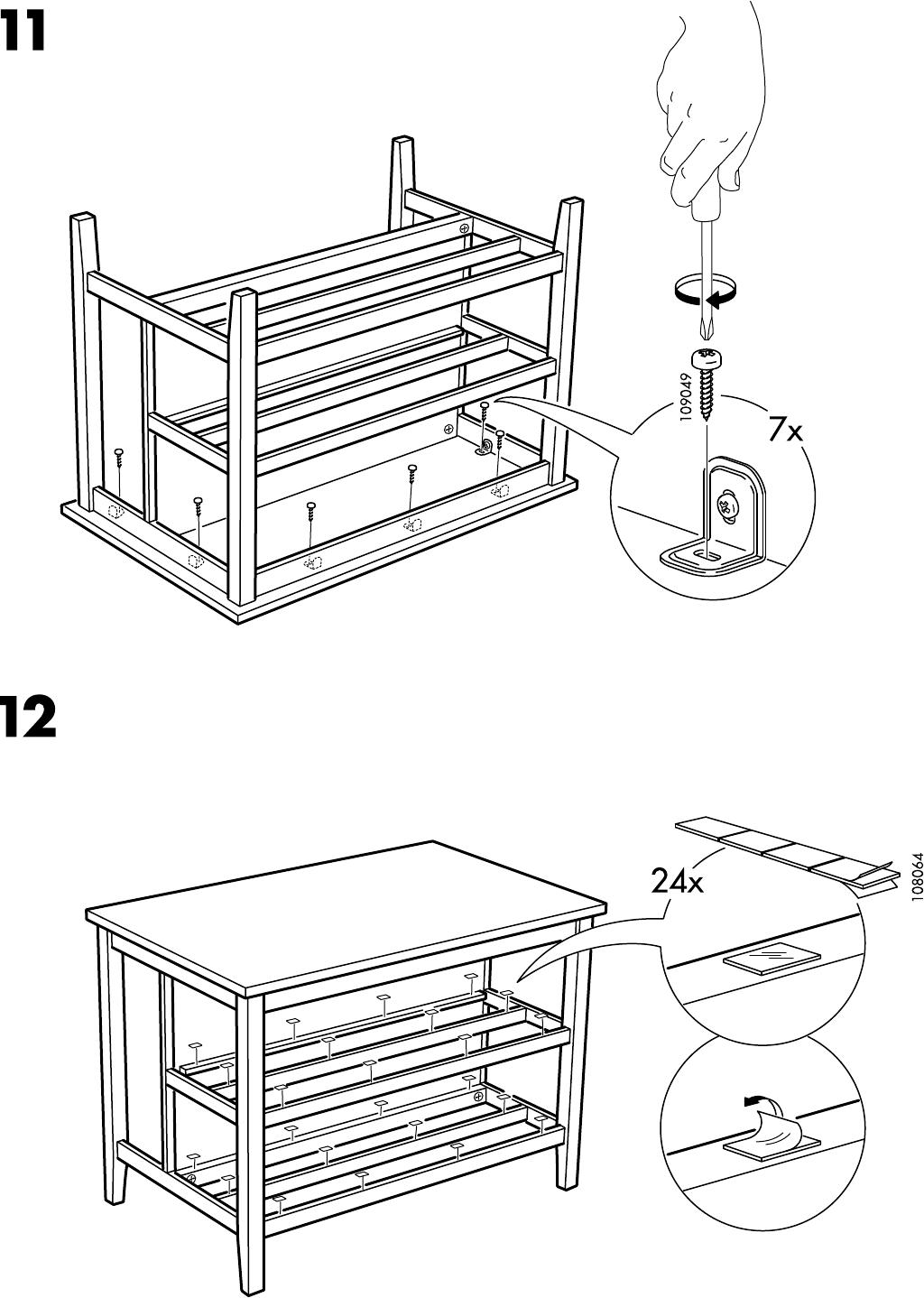 Keukeneiland Ikea : Handleiding Ikea STENSTORP Keukeneiland (pagina 10 van 12) (Dansk