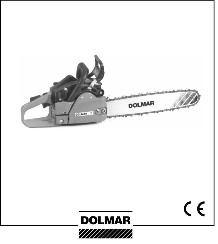 Handleiding Dolmar 109 (pagina 1 van 28) (English)