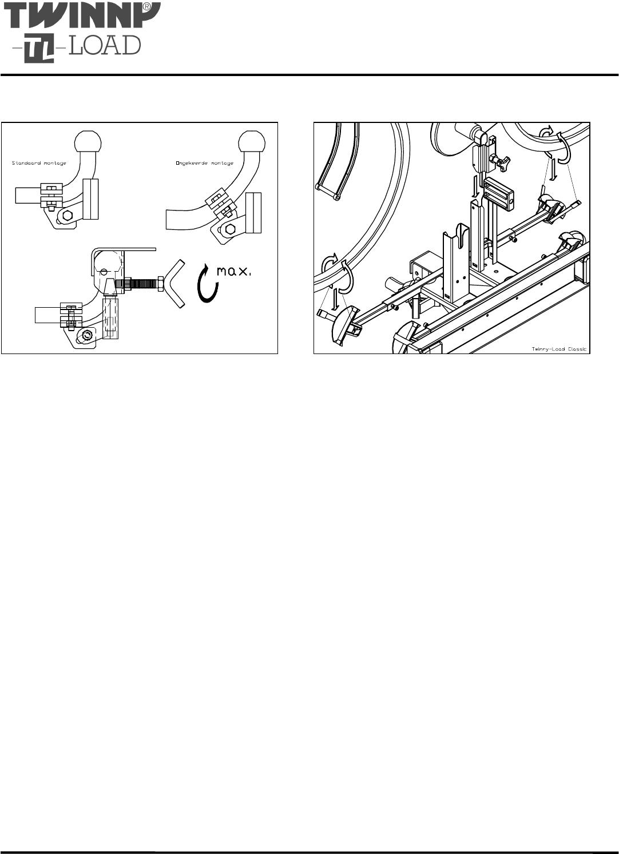 Verwonderend Handleiding Twinny Load Traditional C - Plus (pagina 1 van 4 TN-01