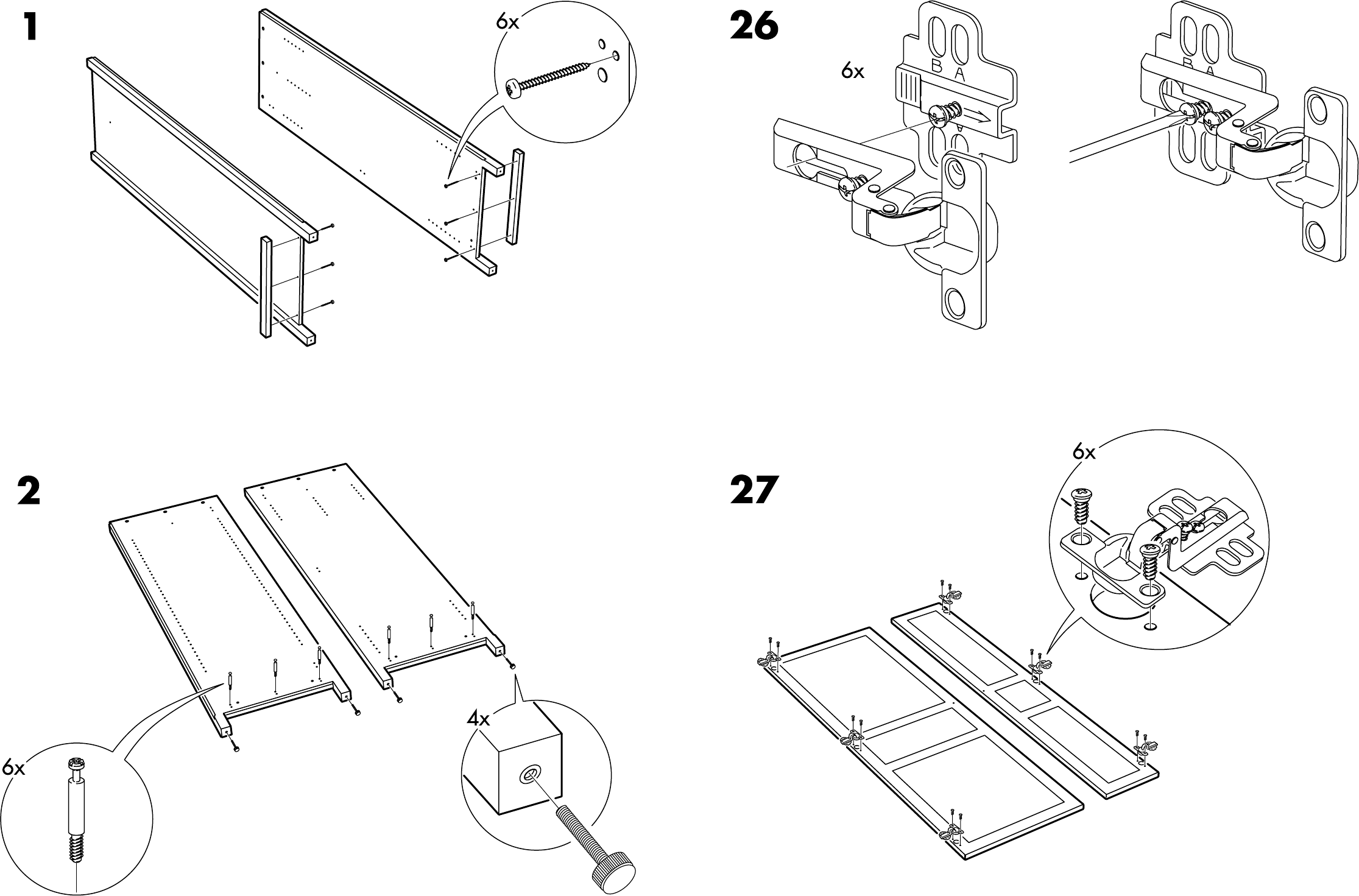 Ikea Folding Table With Chairs ~ Handleiding Ikea Hemnes garderobekast (pagina 4 van 10) (Dansk
