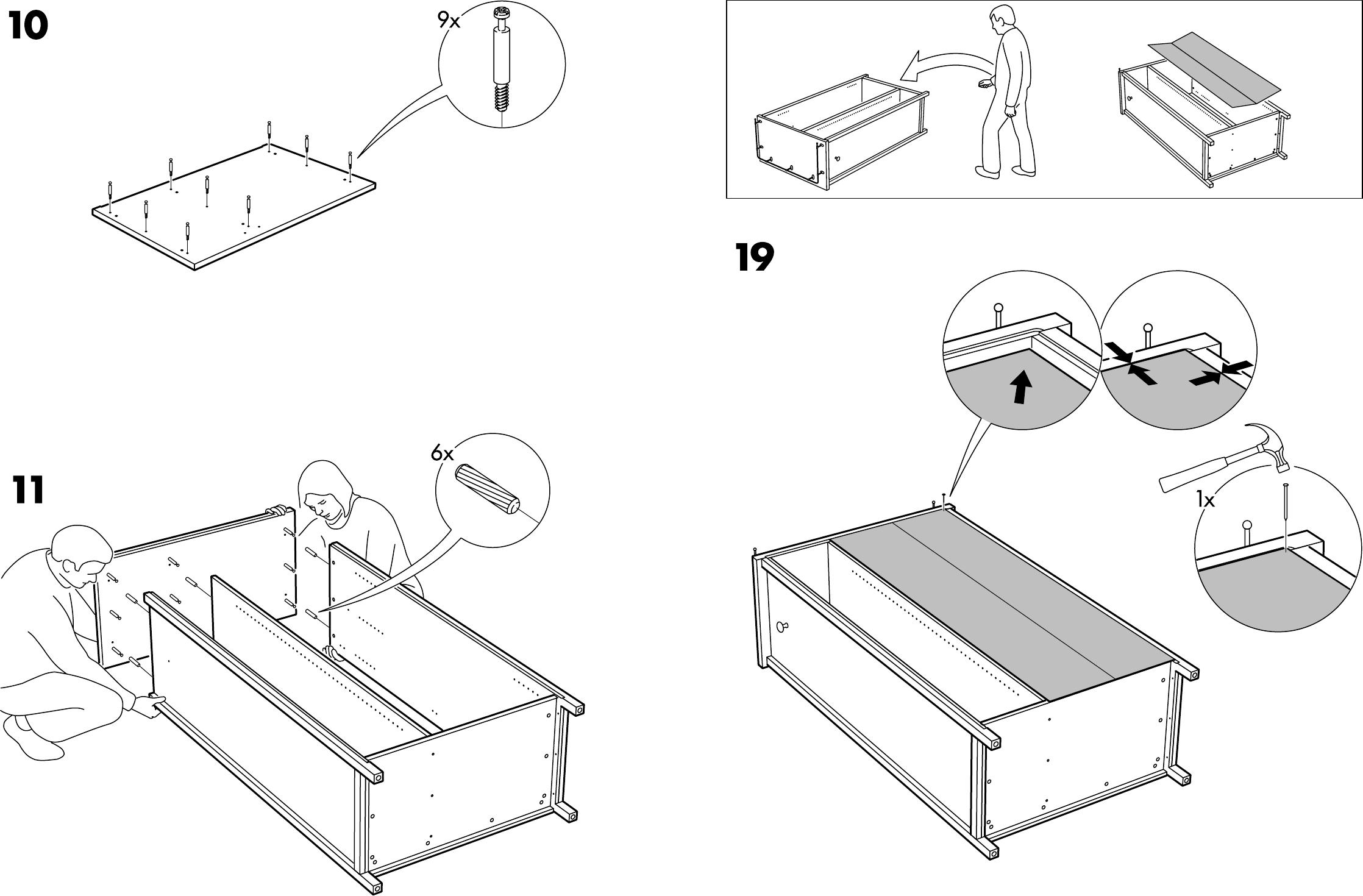 Handleiding Expedit Boekenkast.Ikea Gebruiksaanwijzing Keukenkast Informatie Over De Keuken