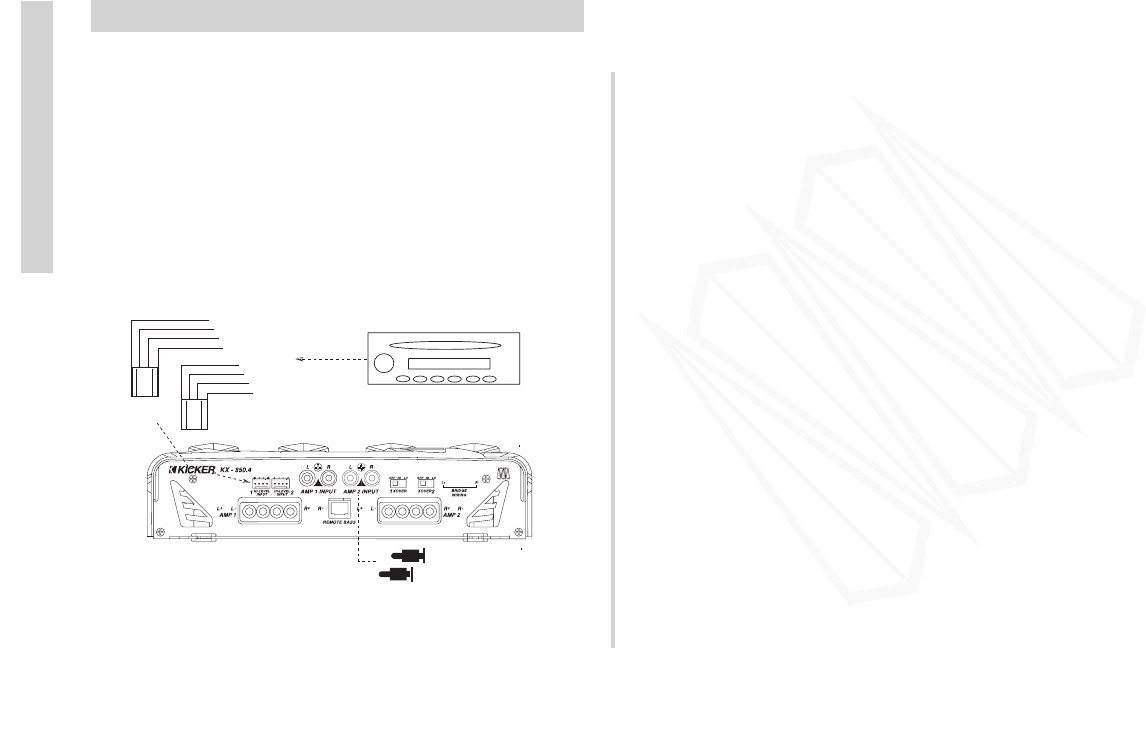 Handleiding Kicker Kx 6504 Pagina 5 Van 16 English Wiring Diagram Besides 2 Ohm Subwoofer On Comp Accessories And 6