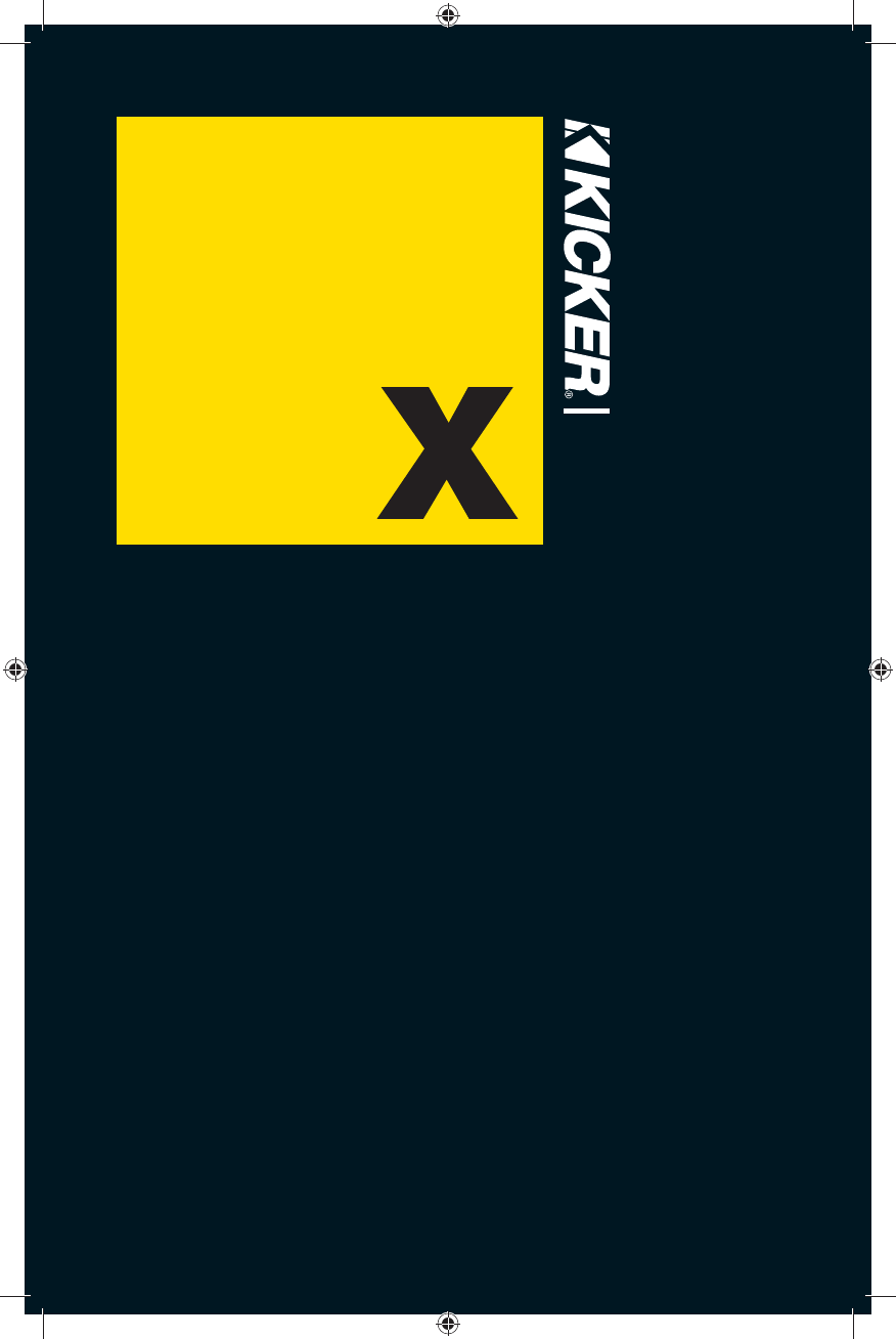 Handleiding Kicker Dx10001 Pagina 1 Van 24 Deutsch English Dx 250 Wiring Diagram Amplifier Dx2501