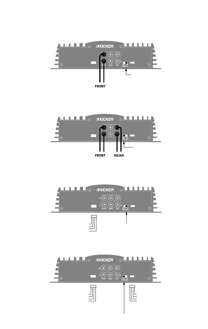 Handleiding Kicker Ix 404 Impulse Pagina 2 Van 8 English Wiring Diagram Amp 3