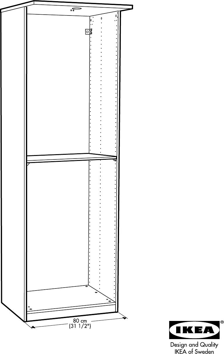 Hopen Hoekkast Ikea.Handleiding Ikea Hopen Garderobekast Pagina 17 Van 44
