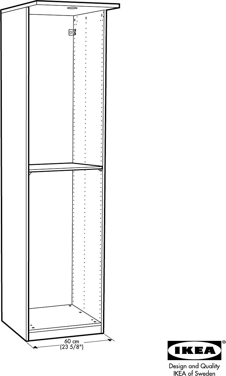 Hopen Ikea Hoekkast.Handleiding Ikea Hopen Garderobekast 2 Pagina 1 Van 44