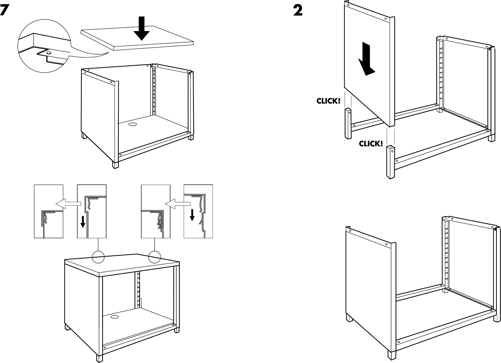 Handleiding Ikea Ps Kast Op Wielen Pagina 4 Van 6 Dansk