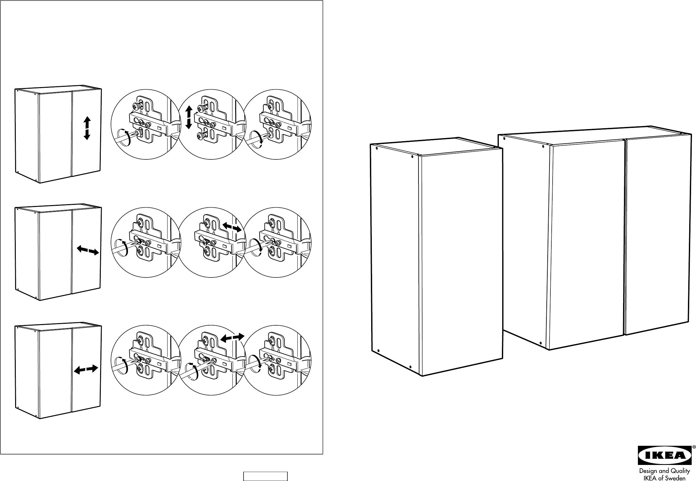 Schreibtisch Ikea Weiß Billig ~ Handleiding Ikea Ivar kast (pagina 1 van 6) (Dansk, Deutsch, English