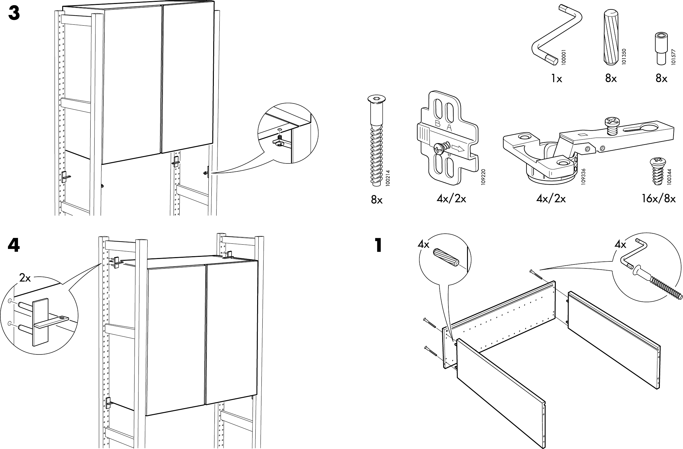 Handleiding Expedit Boekenkast.Bouwtekening Ikea Keukenkast Informatie Over De Keuken