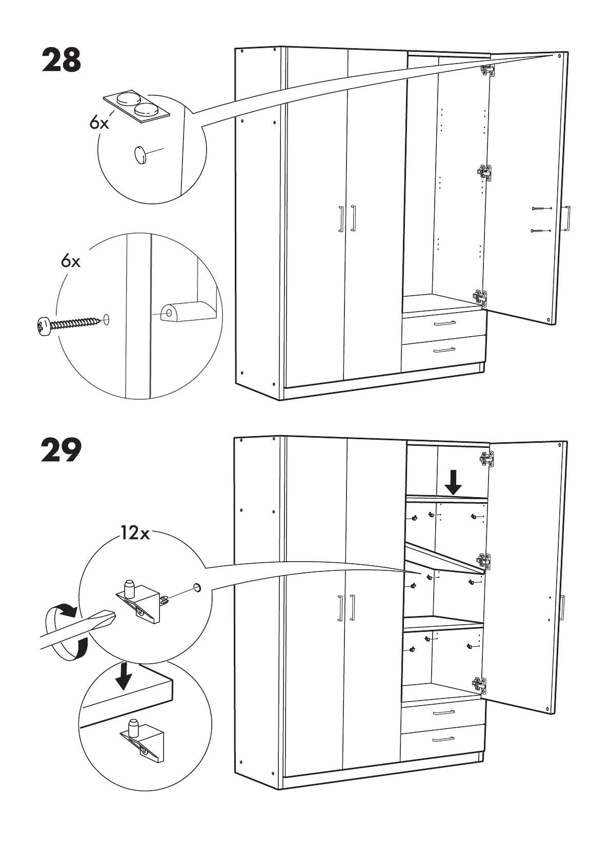 Ikea Kullen Garderobekast.Handleiding Ikea Kullen Garderobekast Pagina 2 Van 10