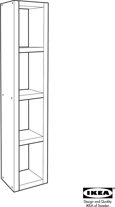 Handleiding Expedit Boekenkast.Lack Kast Ikea