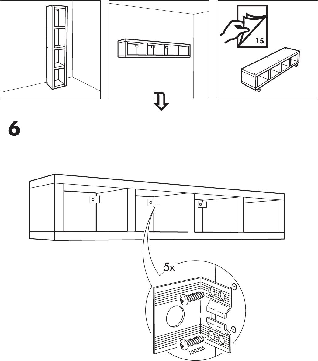 Handleiding Ikea Lack Kast Pagina 11 Van 16 Dansk