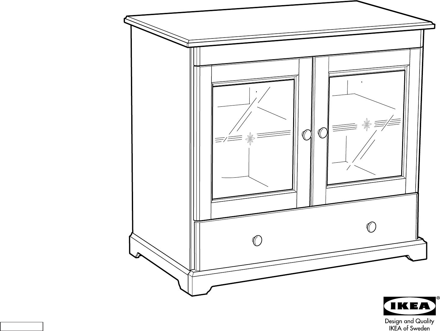 Handleiding Ikea Liatorp Kast Pagina 1 Van 14 Dansk