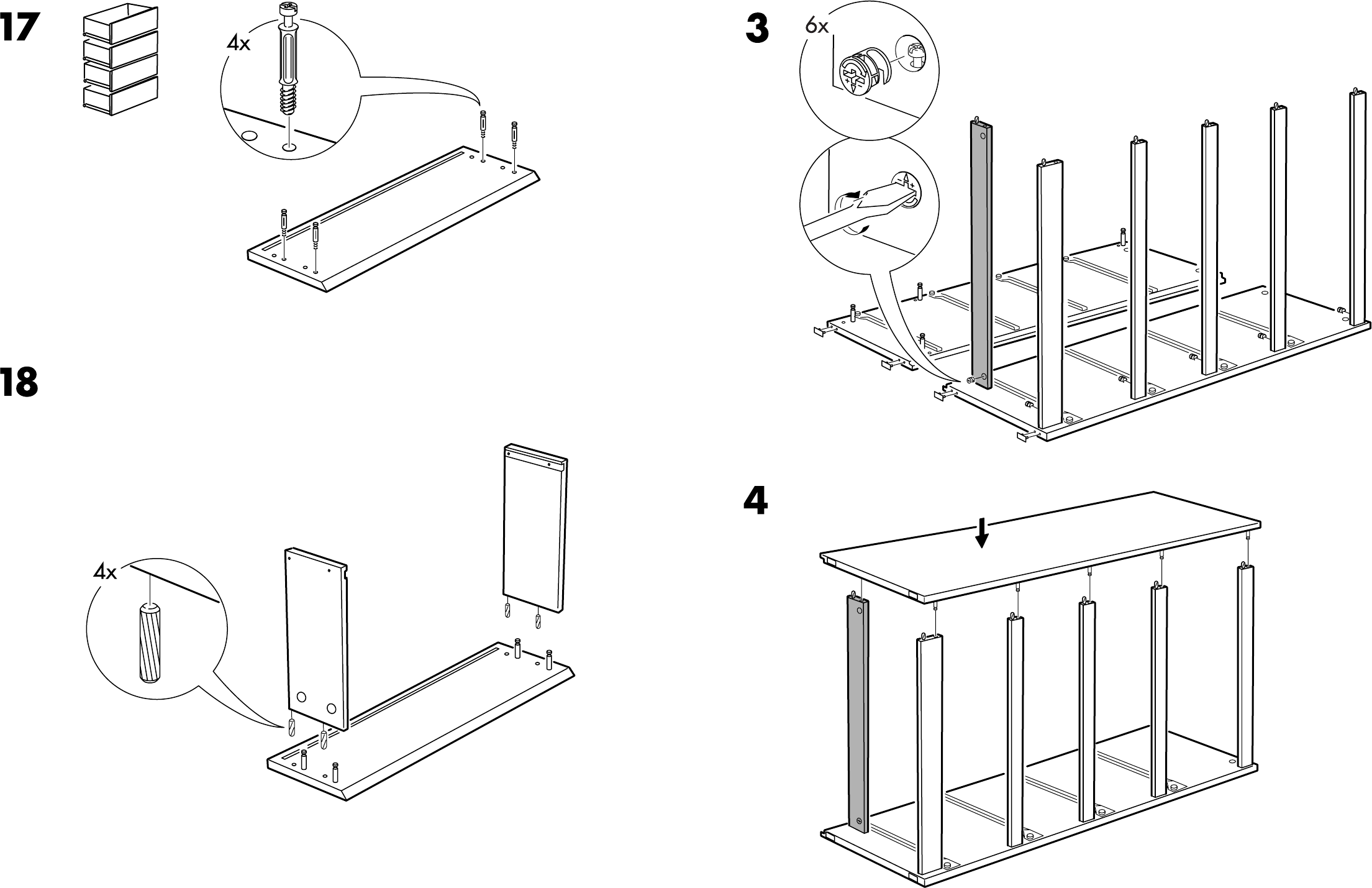 Ikea Malm Ladekast Handleiding.Handleiding Ikea Malm Ladekast 4 Pagina 8 Van 8 Dansk
