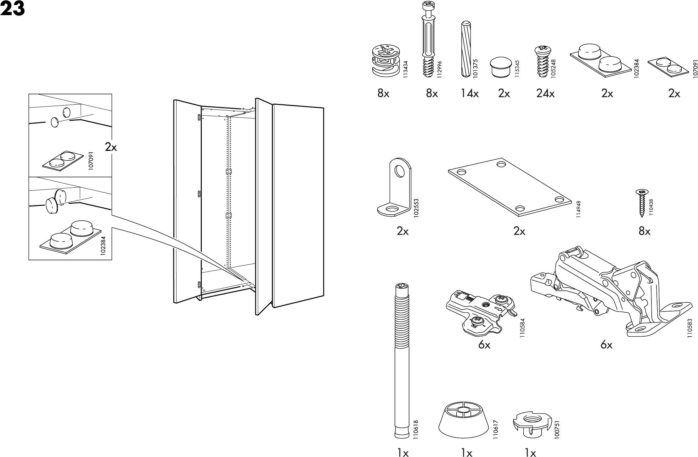 Grundtal Towel Stand From Ikea ~ Handleiding Ikea Pax hoekkast (pagina 3 van 18) (Dansk, Deutsch