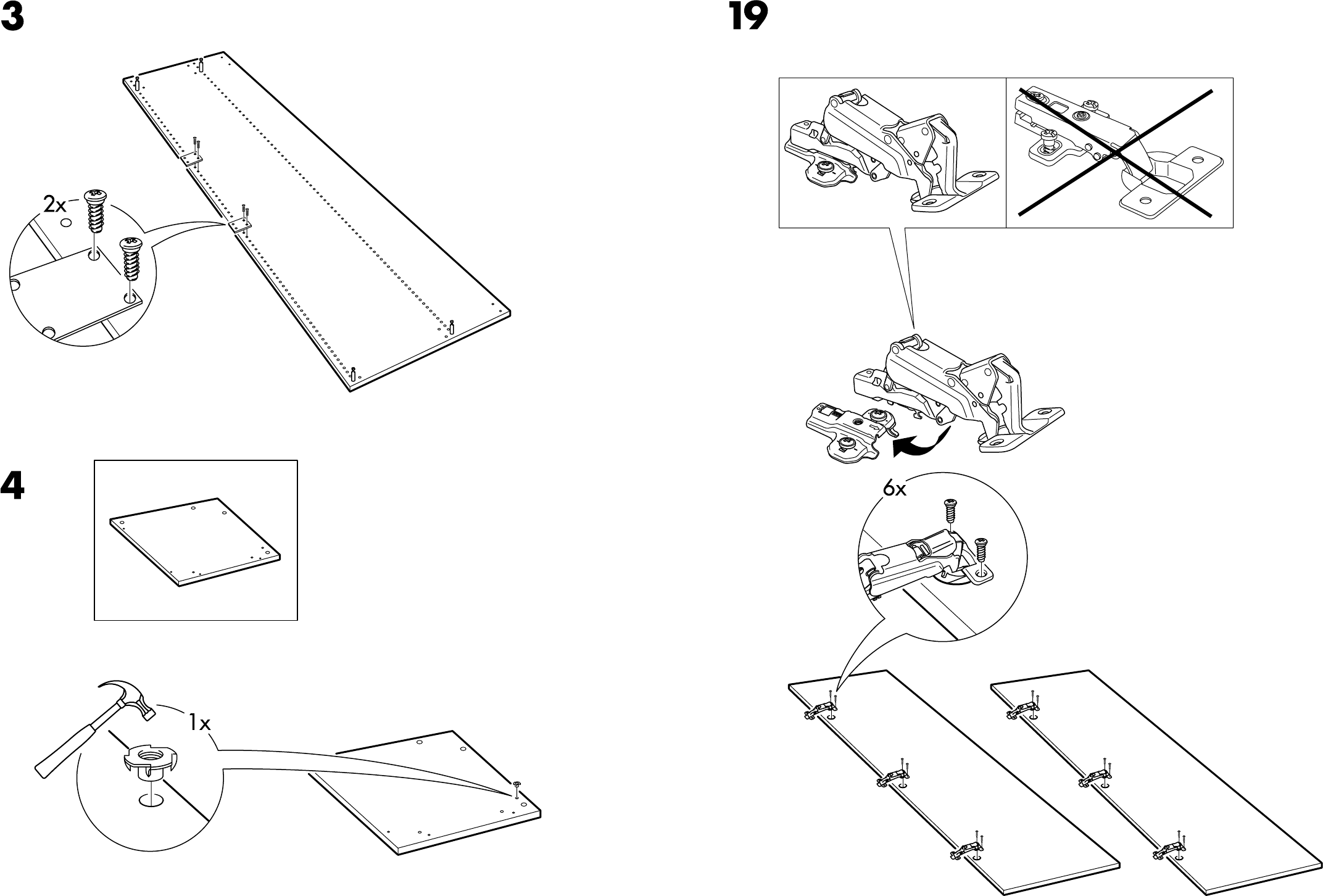 Handleiding Ikea Pax Hoekkast Pagina 14 Van 18 Dansk