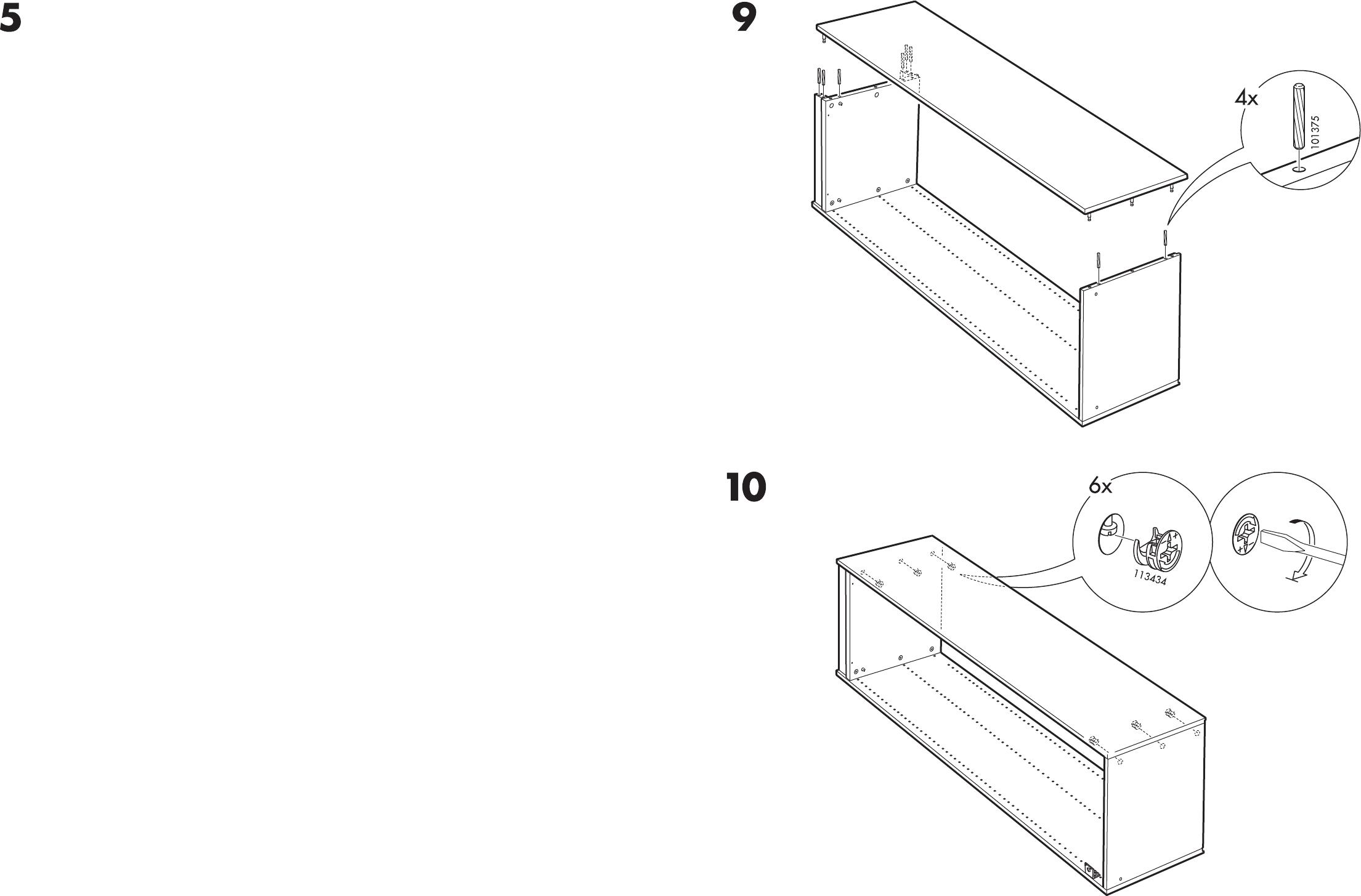 Handleiding Ikea Pax Garderobekast Pagina 1 Van 12 Dansk