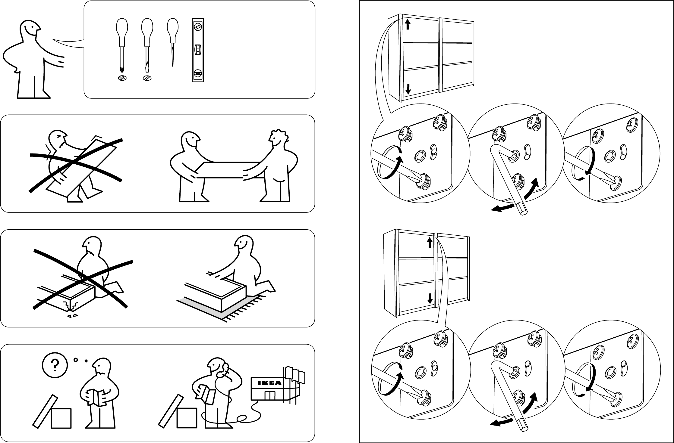 Pax Handleiding Schuifdeuren.Handleiding Ikea Pax Stordal Schuifdeuren Pagina 2 Van 12