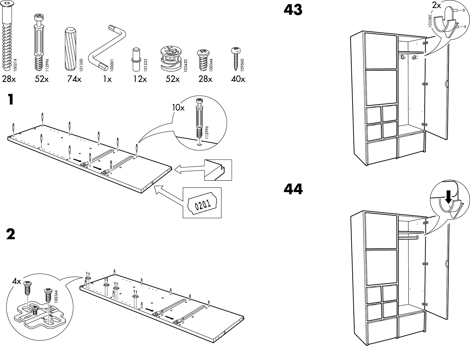 Handleiding Expedit Boekenkast.Handleiding Ikea Rakke Kast Pagina 1 Van 12 Dansk Deutsch