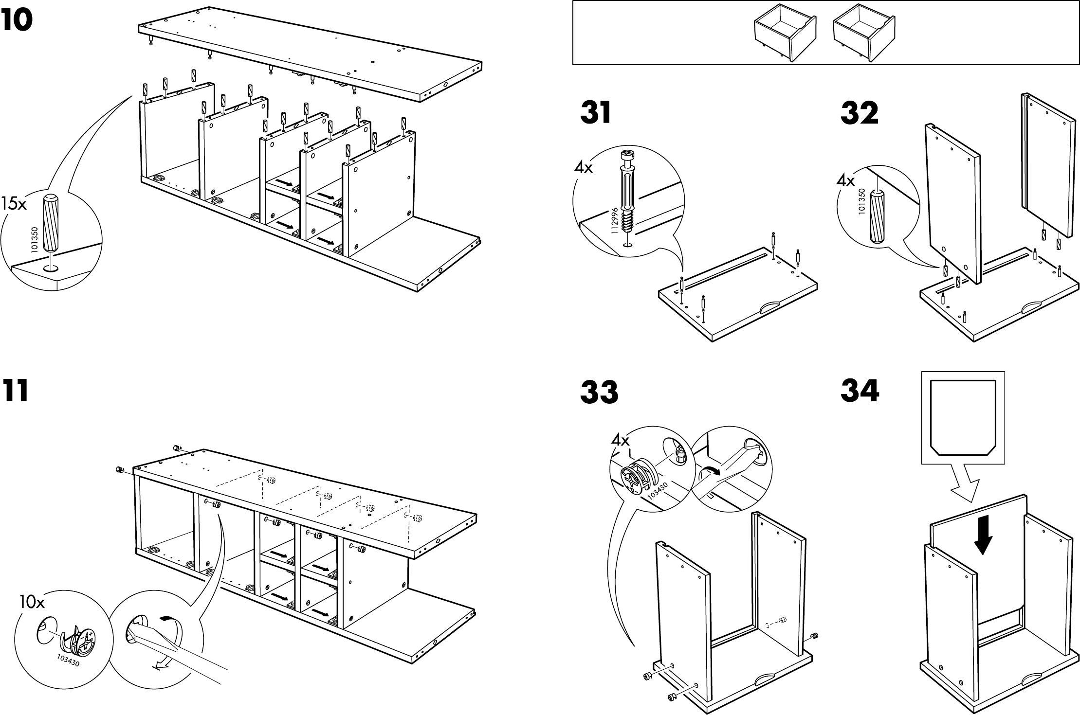 Handleiding Ikea Rakke Kast Pagina 8 Van 12 Dansk