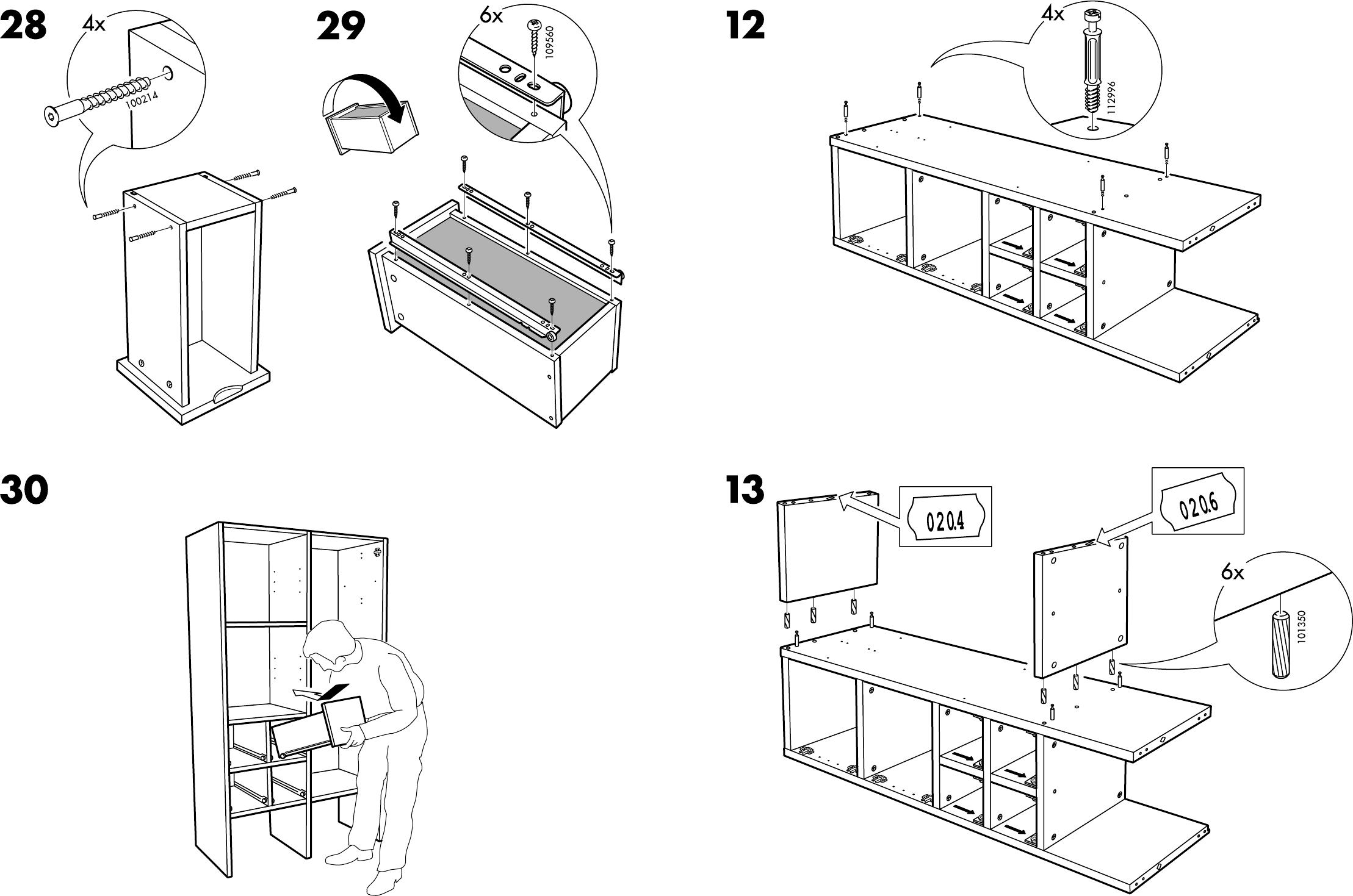 Handleiding Ikea Rakke Kast Pagina 9 Van 12 Dansk