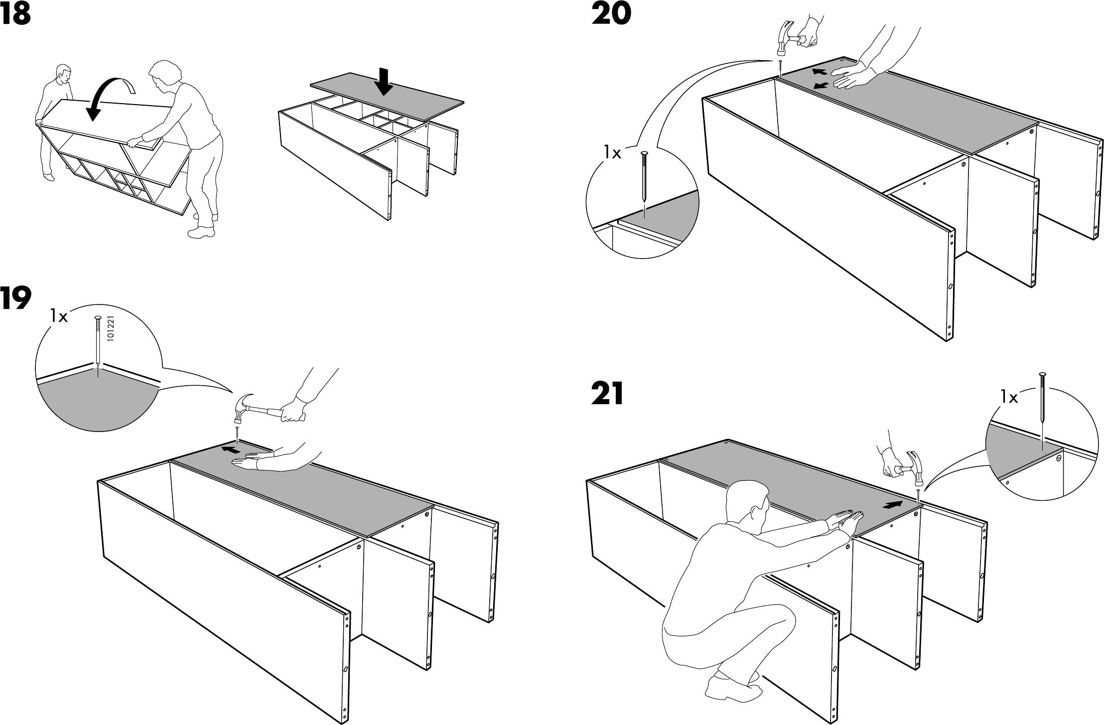 Handleiding Ikea Rakke Kast Pagina 11 Van 12 Dansk