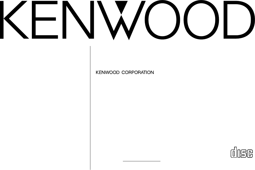 Handleiding Kenwood KDC-315 (pagina 1 van 28) (English)