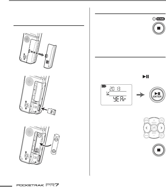 Handleiding Yamaha Pr7 Pocketrak Pagina 10 Van 32 English