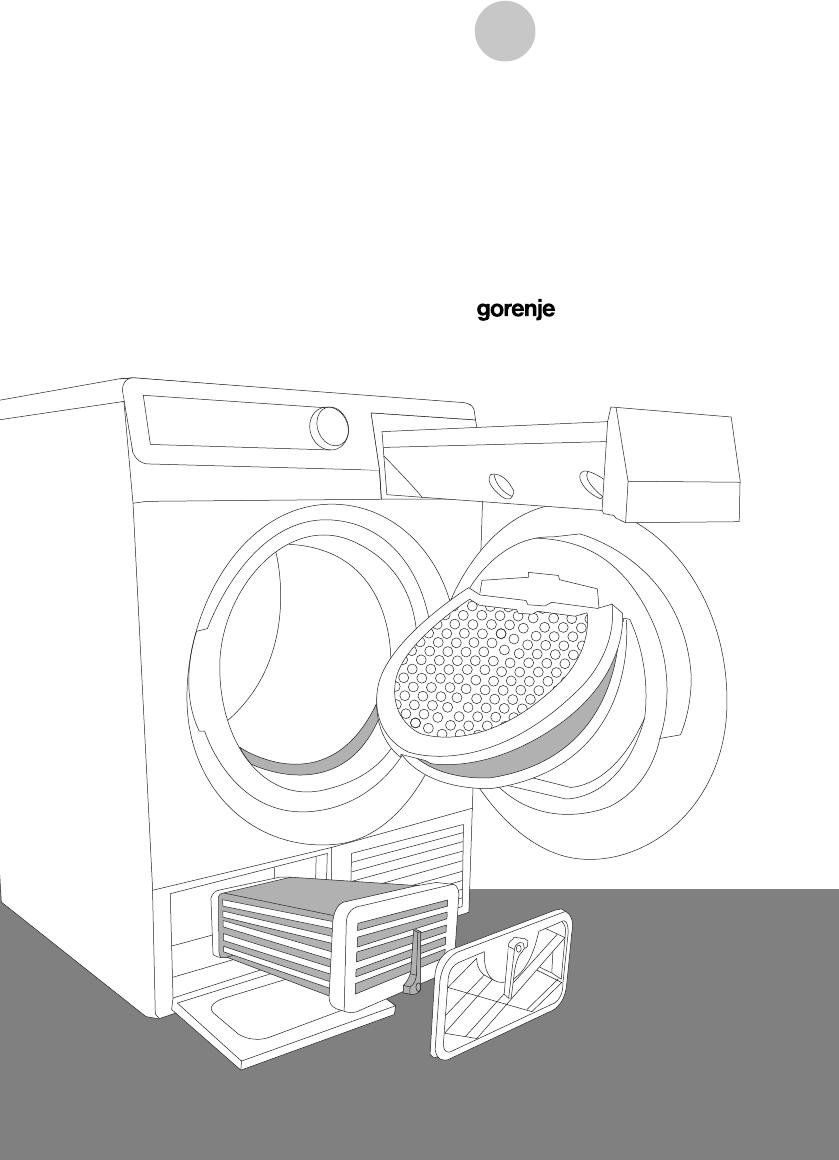 handleiding gorenje d740b pagina 1 van 48 deutsch. Black Bedroom Furniture Sets. Home Design Ideas