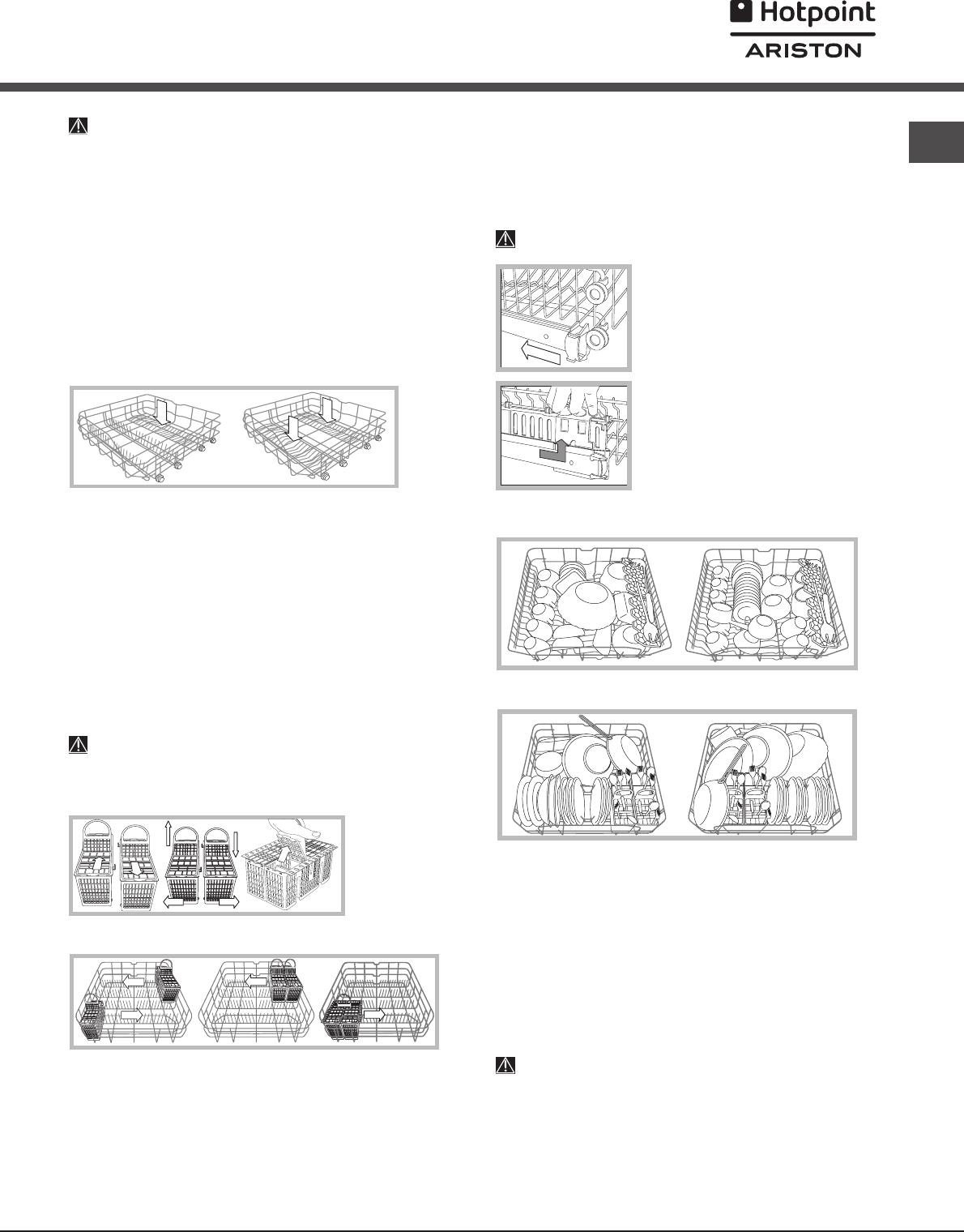 Handleiding Hotpoint-Ariston LFT 114 A (pagina 19 van 84 ...